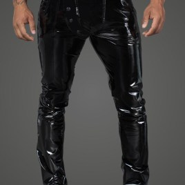 H060 Lange Hose aus elastischem PVC von Noir Handmade Rebellious Collection