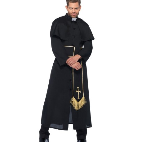 Priest Sexy Kostüm – Halloween und Karneval – 8533406001