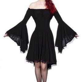 90015 Jerseykleid schwarz von Ocultica