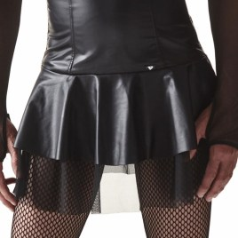 CRD001 Rock schwarz von Regnes Fetish Planet Crossdresser Fetish Line