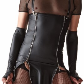 CRD004 Kleid schwarz von Regnes Fetish Planet Crossdresser Fetish Line