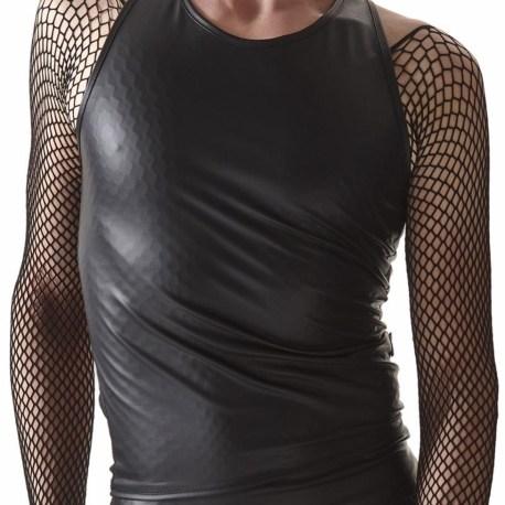 CRD006 T-Shirt schwarz von Regnes Fetish Planet Crossdresser Fetish Line – 5903819100440 5903819100457 5903819100464 (2)-vert