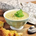 Grüne Gemüse-Kokos-Suppe