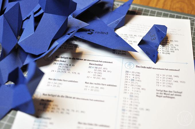 PaperShape Teile falten