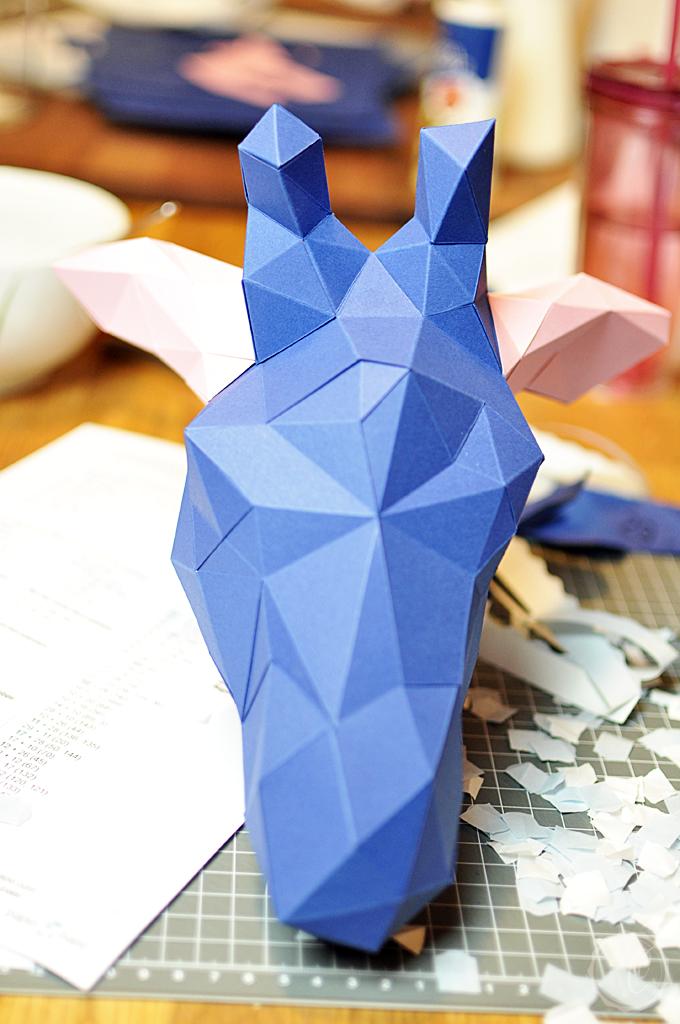 PaperShape Ohren kleben