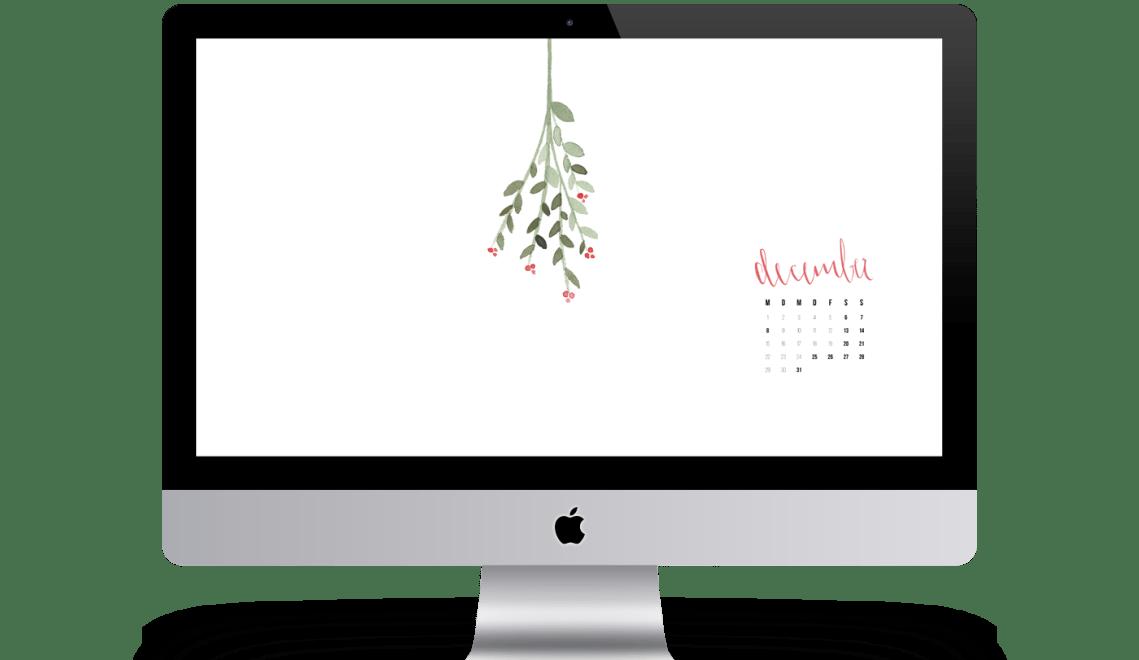Wallpaper Dezember iMac