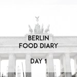 Berlin Food Diary Day 1 Banner