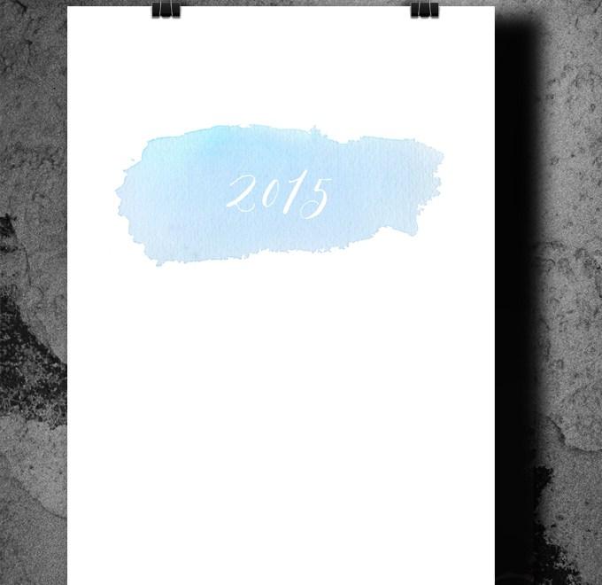 Kalender Deckblatt 2015