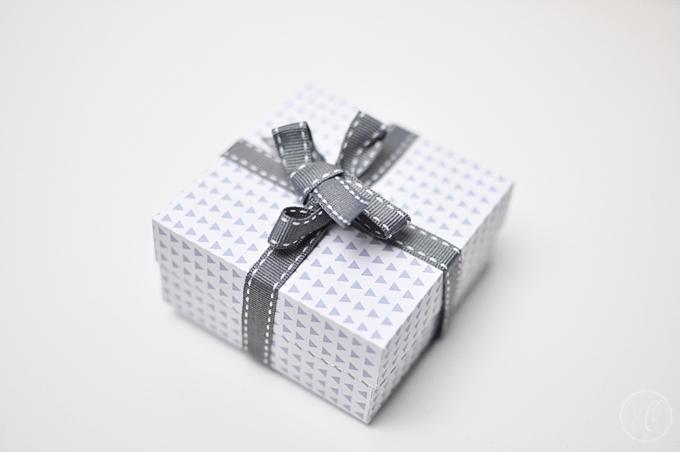 DIY Papierbox Freebie Geschenk