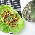 10-Minuten-Salat-Wraps