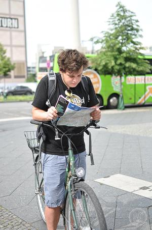 Vegan in Berlin Tag 2 by bike