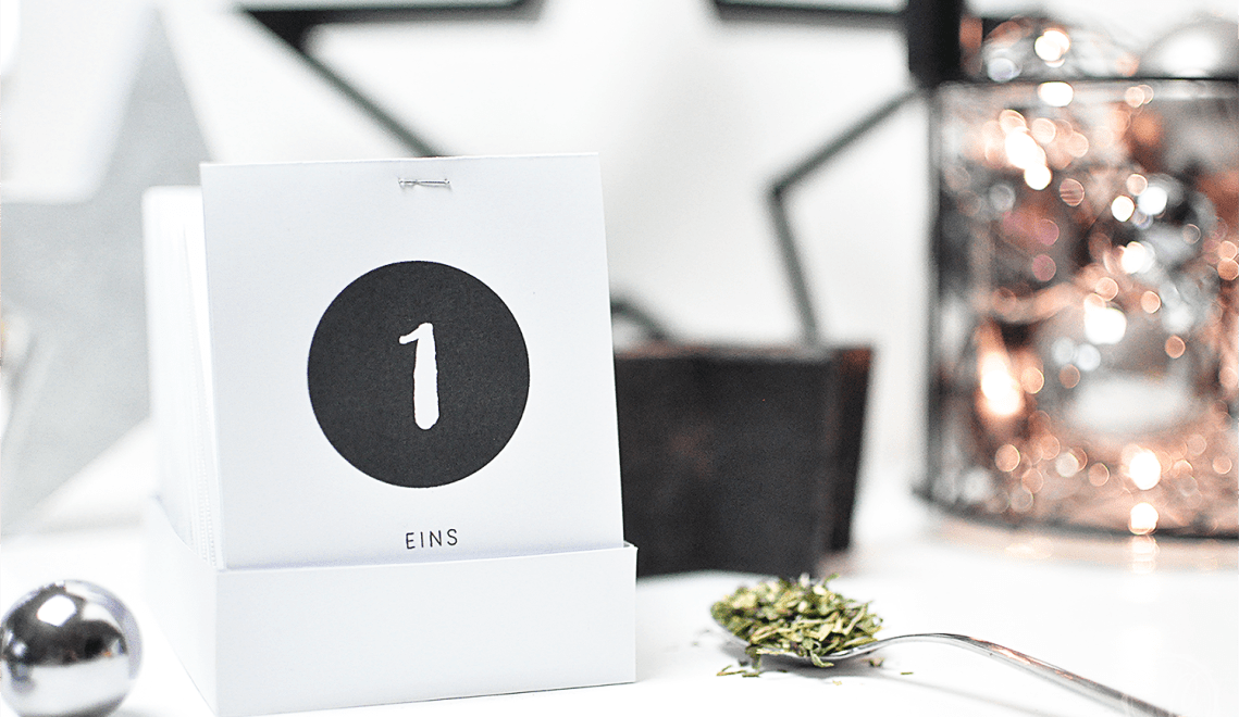 DIY: Tee-Adventskalender