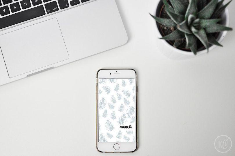 Wallpaper Maerz 2016 mobil