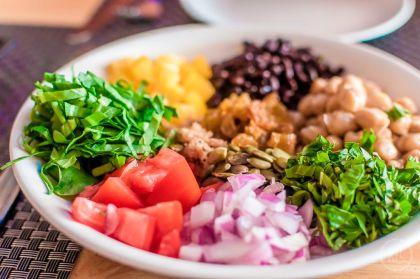 Vegan in Hanoi Jalus