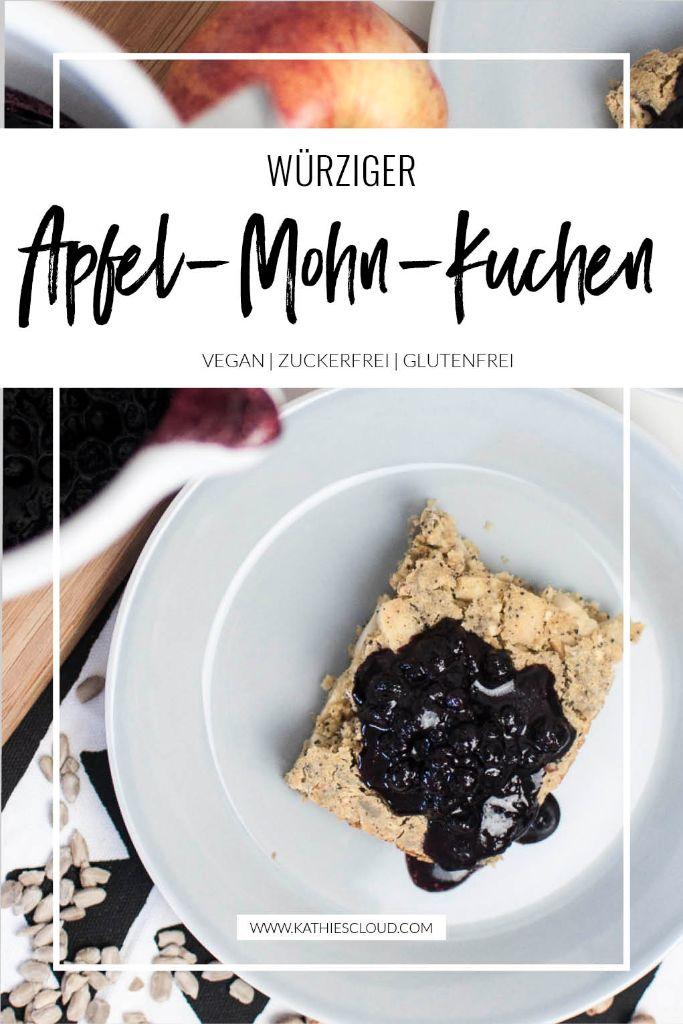 Würziger Apfel-Mohn-Kuchen