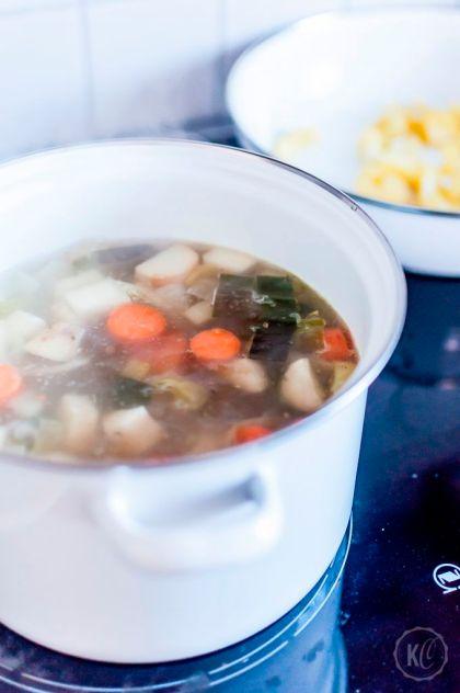 Gesunde Küchenutensilien