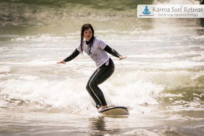 Karma Surf- und Yogaretreat Portugal