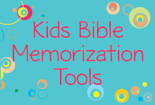 Kid Bible Memorization Tools