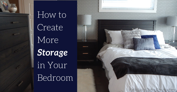 How to Create More Storage in Your Bedroom