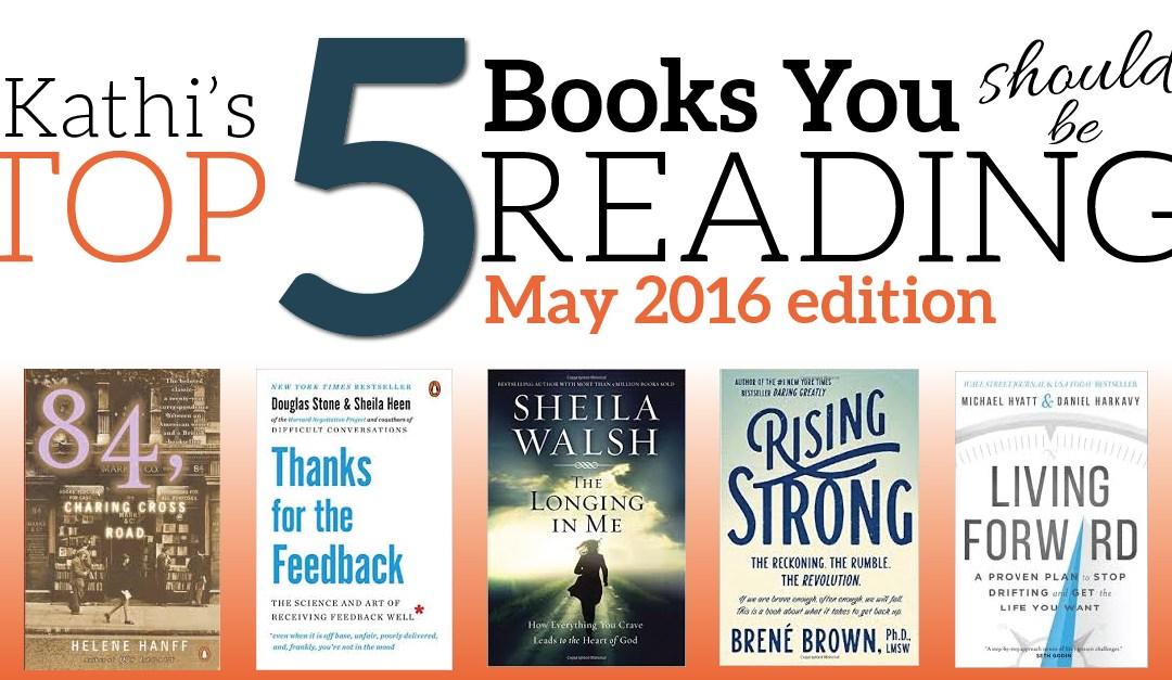 Fri Fav – 5 Books You Should Be Reading