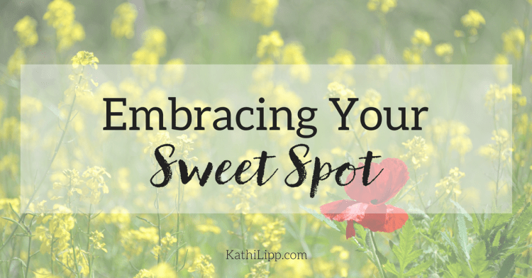 Embracing Our Sweet Spot: Living out Our God-Given Talents