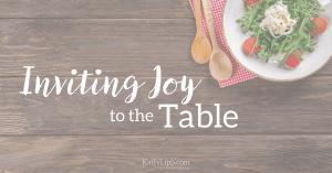 invite joy