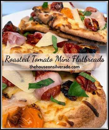 Roasted tomato Blogger's Pit Stop #233