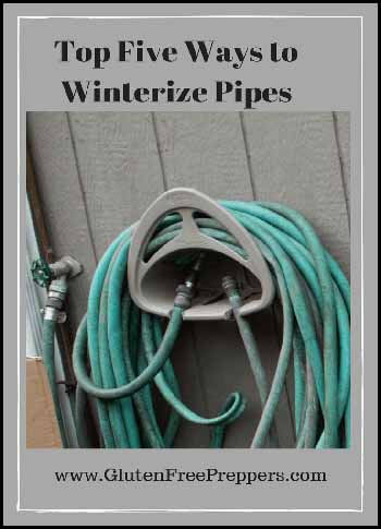 Winterize pipes Blogger's Pit Stop #254