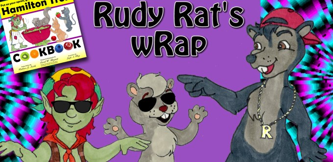 Rudy Rat's wRap Award Winning Author Kathleen J Shields educational books