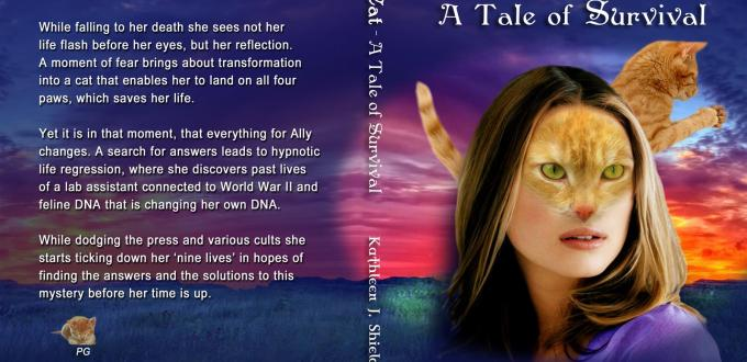 Ally Cat book cover by author Kathleen J. Shields