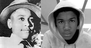 Emmett Till and Trayvon Martin
