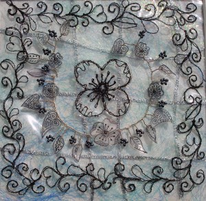 Clear Flower Panel