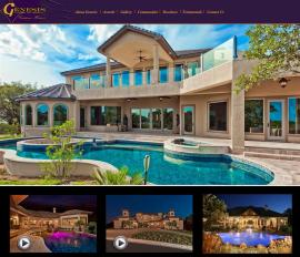Custom Home Builder Websites by Kathleen's Graphics