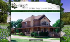 Custom Home Builder Websites by Kathleen's Graphics