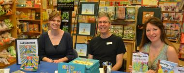 Book Signings at Libraries & Bookstores