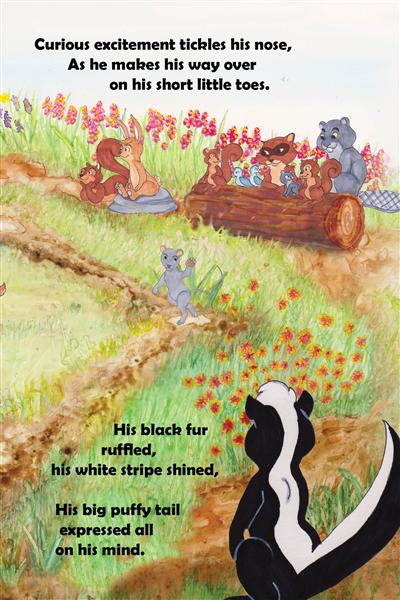 Skeeter Skunk wants to join the Stick-Nut game. hamilton troll books kathleen j shields author