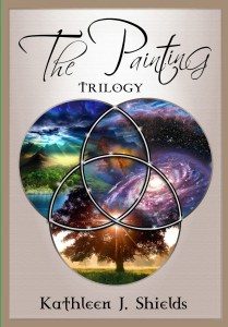 The Painting Trilogy Hardback by author Kathleen J. Shields