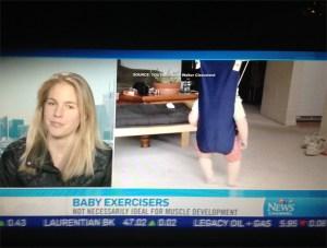 Kathleen on CTV - Baby Exercises 2