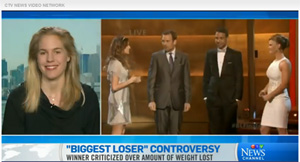 Kathleen on CTV - The Biggest Loser