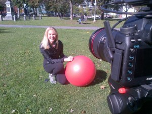 Kathleen Making Globe and Mail Video 2
