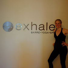 KT at Exhale