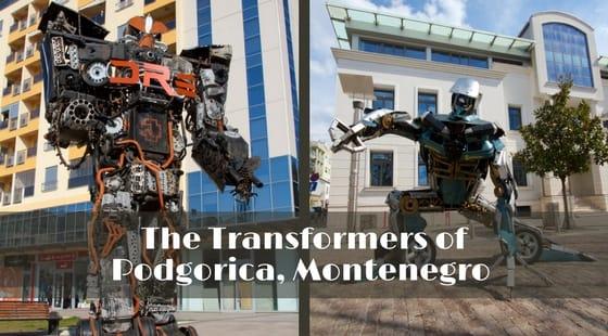 Discovering Unusual Street Art in Podgorica, Montenegro