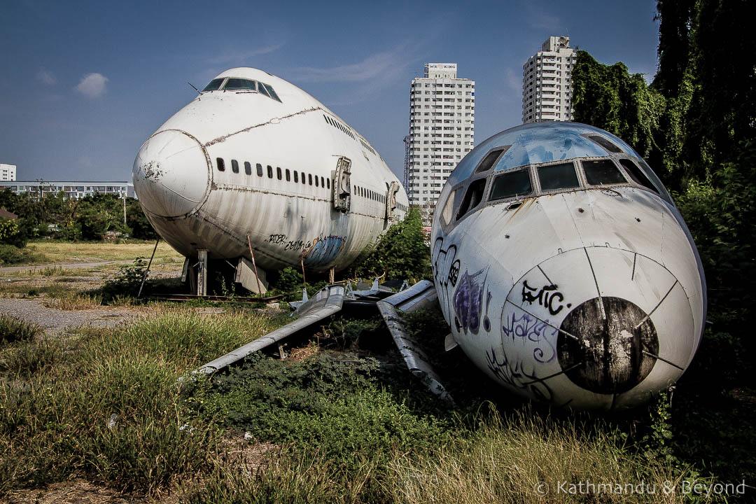 Airplane Graveyard Ramkhamhaeng Bangkok Thailand-9
