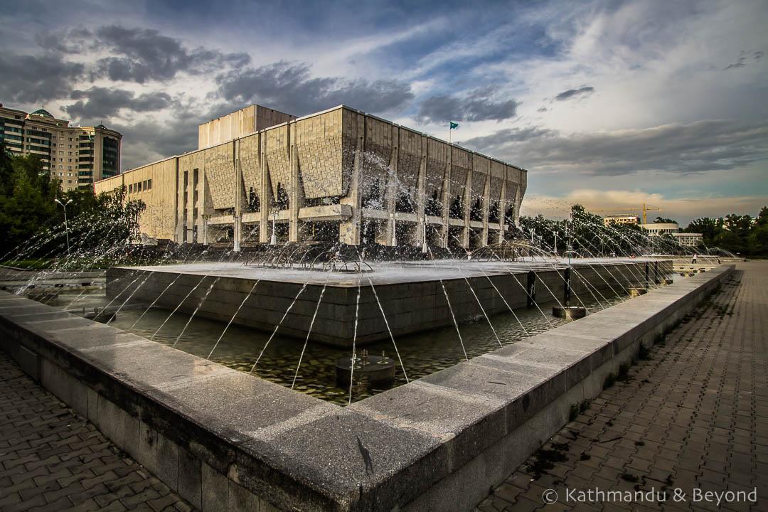 Kazakh State Academic Drama Theatre (Auezov) Almaty Kazakhstan-3