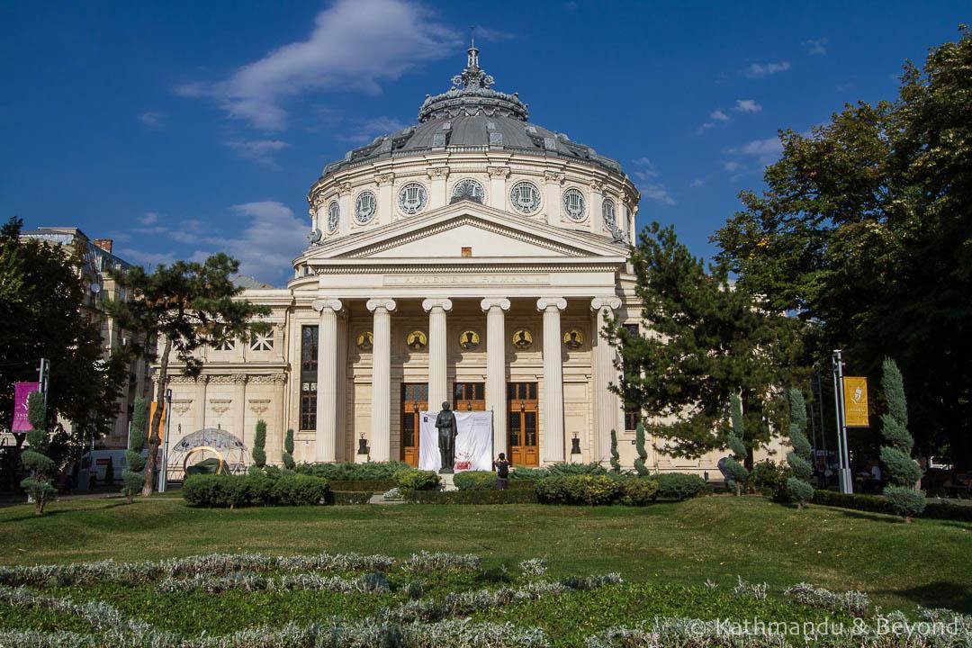 Romanian Athenaeum Bucharest Romania-5