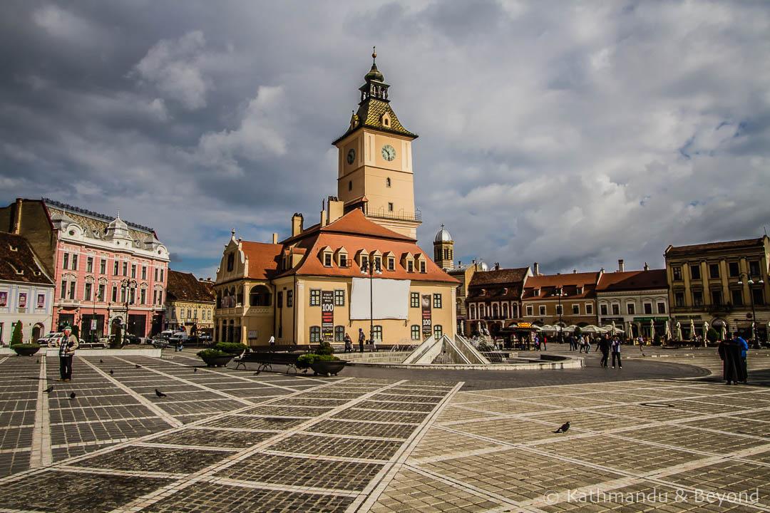 Council House Sfatului (Council) Square Old Town Brasov Romania-2-2