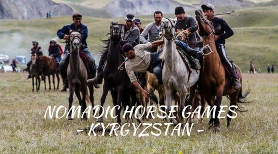 Nomadic Horse Games KYRGYZSTAN