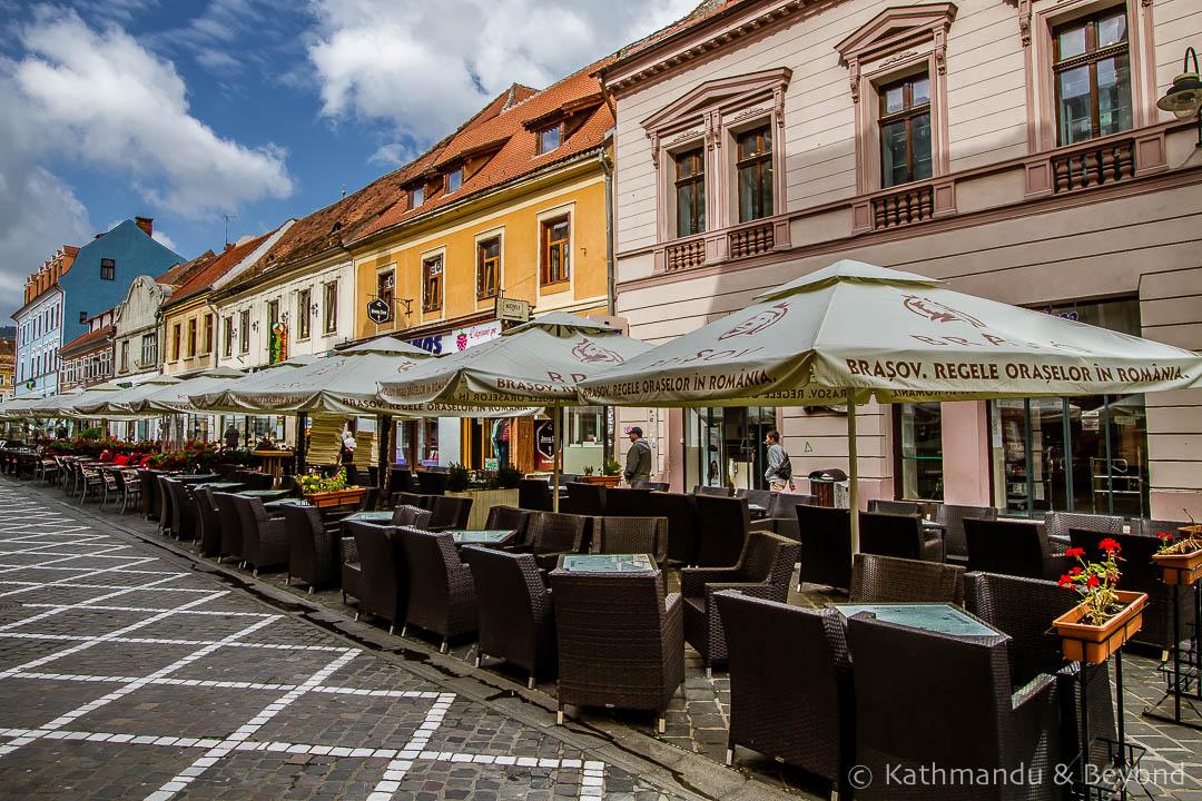 Republic Street Old Town Brasov Romania-2