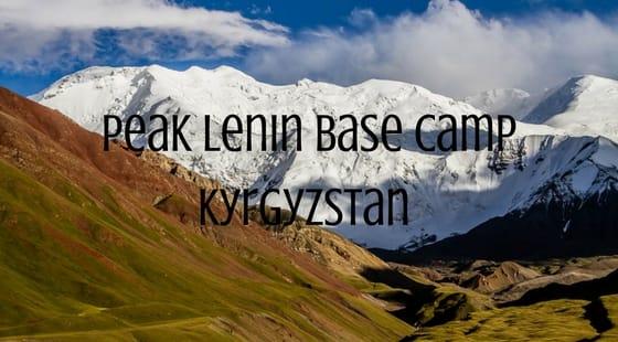 Peak Lenin Base Camp Kyrgyzstan