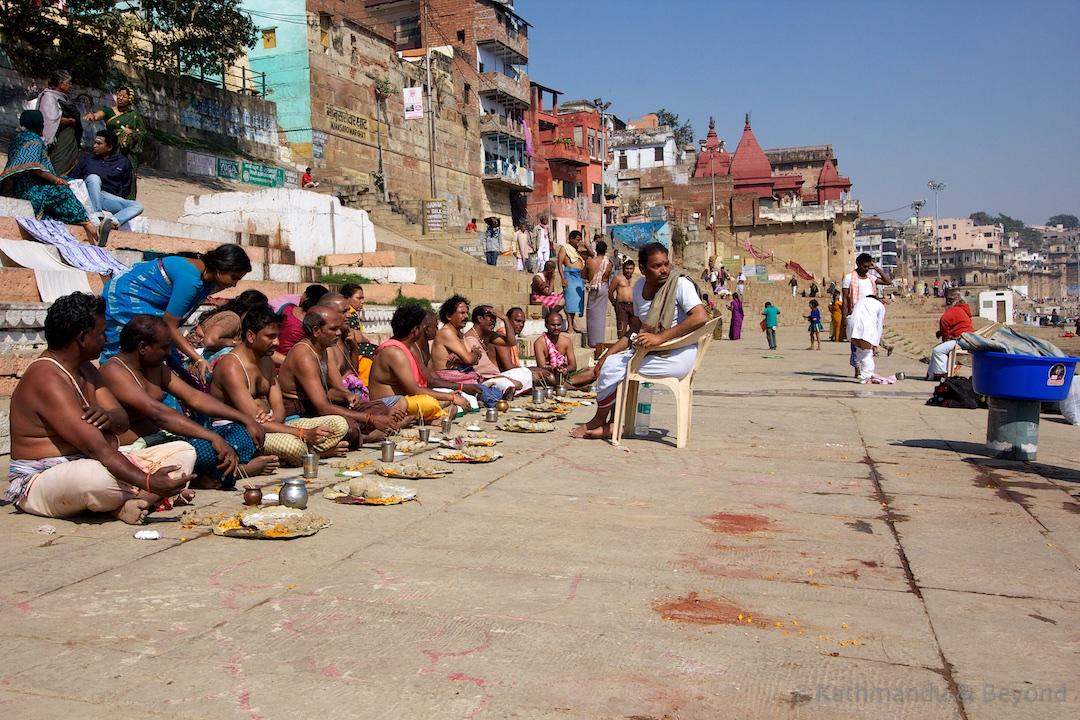 Kedar Ghat Varanasi India